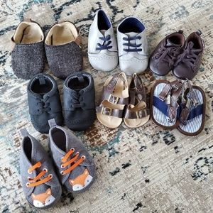 New baby bundle of shoes 0-9 months